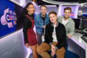 Capital breakfast and drivetime hosts (l-r) Vick Hope, Garry Spence, Roman Kemp and Sonny Jay