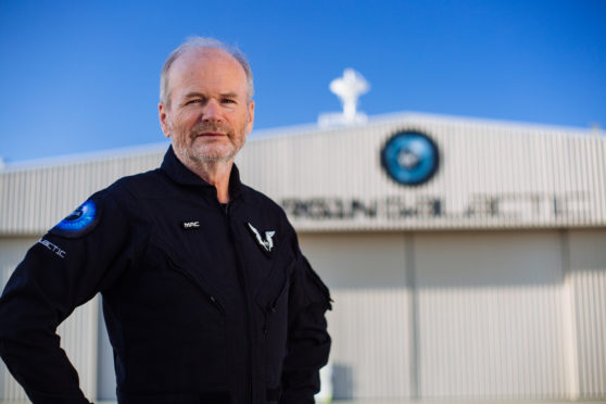 Virgin Galactic's Chief Pilot, David Mackay