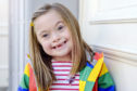 Ciara Burns, age 6 yrs. Ciara was born with Down Syndrome.