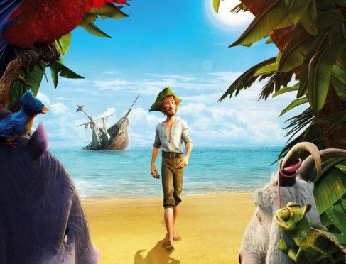 Robinson Crusoe 2016 animation.