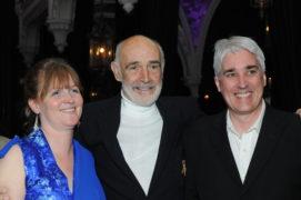 Mairi with Sir Sean Connery at the Ceilidh at Ghillie Dhu in Edinburgh, 19 June 2010. Photograph: Edinburgh International Film Festival 2010.