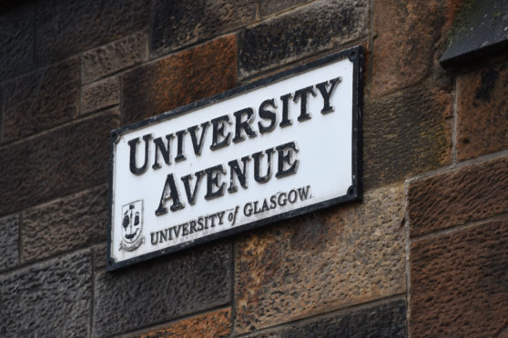 Buildings at the University of Glasgow were evacuated after a suspicious package was found in a mailroom last week