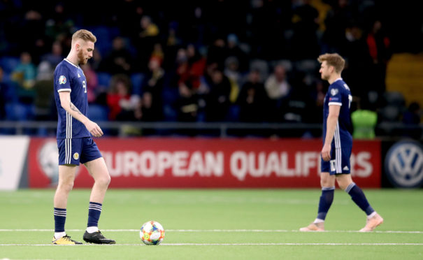 Dejection for Oli McBurnie and Stuart Armstrong after the opener