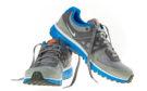 Nike running shoes, similar to Rab's pair