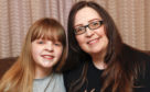 Stacey Adam and her daughter Tamzin