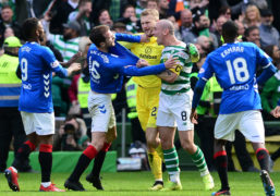 It all kicks off at full time between Celtic and Rangers last Sunday
