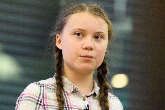 Swedish environmental campaigner Greta Thunberg