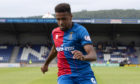 Nathan Austin in action for Inverness