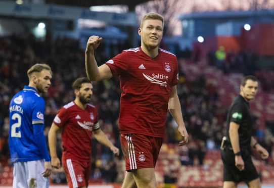Aberdeen's Sam Cosgrove
