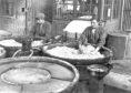 The Gretna Girls unloading the nitrating pans