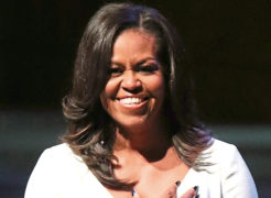 Michelle Obama will bring her book tour to London's O2 Arena next year.
