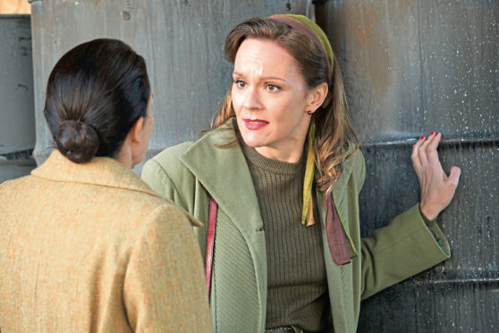 Rachael Stirling in The Bletchley Circle : San Francisco