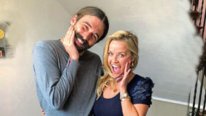 Jonathan Van Ness with guest Reese Witherspoon