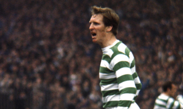 Celtic's Billy McNeill in action
