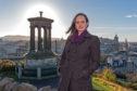 Cat Headley in Edinburgh where she stood for Scottish Labour