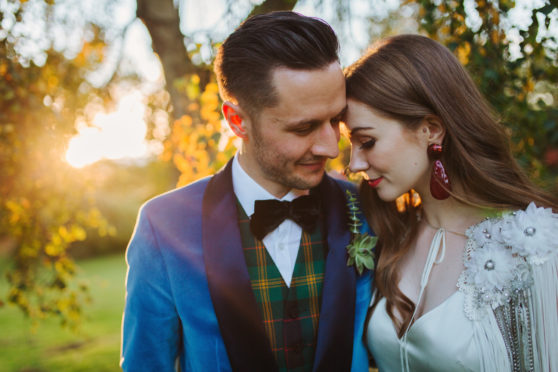 Chris and Eve married in the autumn