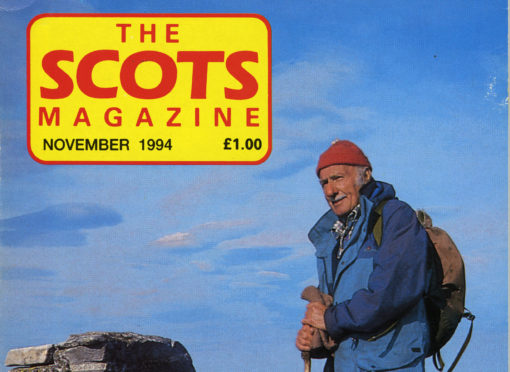 The Scots Magazine, November 1994, Tom Weir