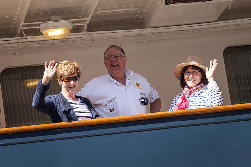 The Yotties on board last year