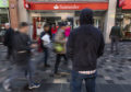 The money launderer revealed Santander branches in Glasgow, like the one above, were a favourite because, at that time, security seemed to be lax