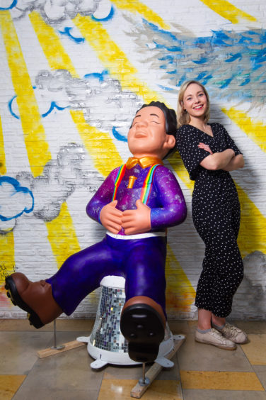 Singer KT Tunstall reveals pride after her hugely successful album inspires sculpture on Oor Wullie's BIG Bucket Trail - Sunday Post