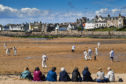The Ship Inn cricketers from Elie, in Fife, the only team in the UK to play their matches on a beach, open the season against the Borderers