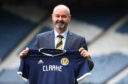 Steve Clarke is unveiled as the new Scotland National Team head coach at Hampden