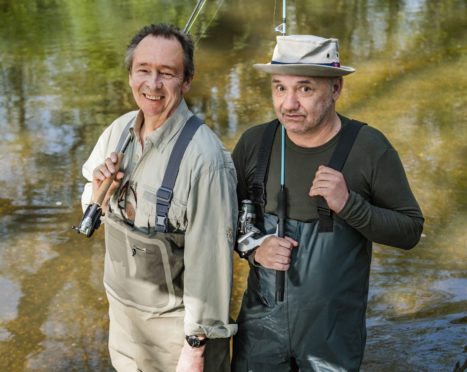 Paul Whitehouse and Bob Mortimer.