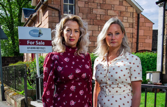 Claire Sarah Hart and Sandra Hill of Manor Estate Agents
