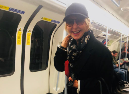Lulu on the tube. Still rocking it in later life.