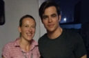 Nichola Pearce and Chris Pine