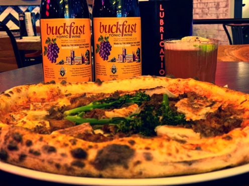 Glasgow restaurant to celebrate World Buckfast Day with limited edition tonic wine-infused pizza