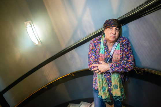 Steven Van Zandt treated fans to an intimate live DJ session at Hard Rock Cafe Glasgow