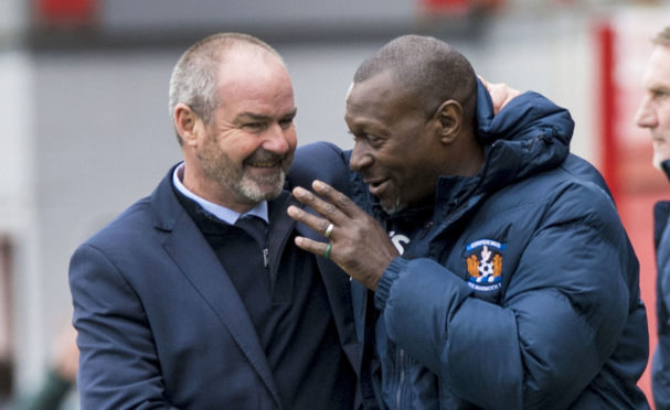 Alex Dyer reckons Steve Clarke is right up there with the very best as a manager