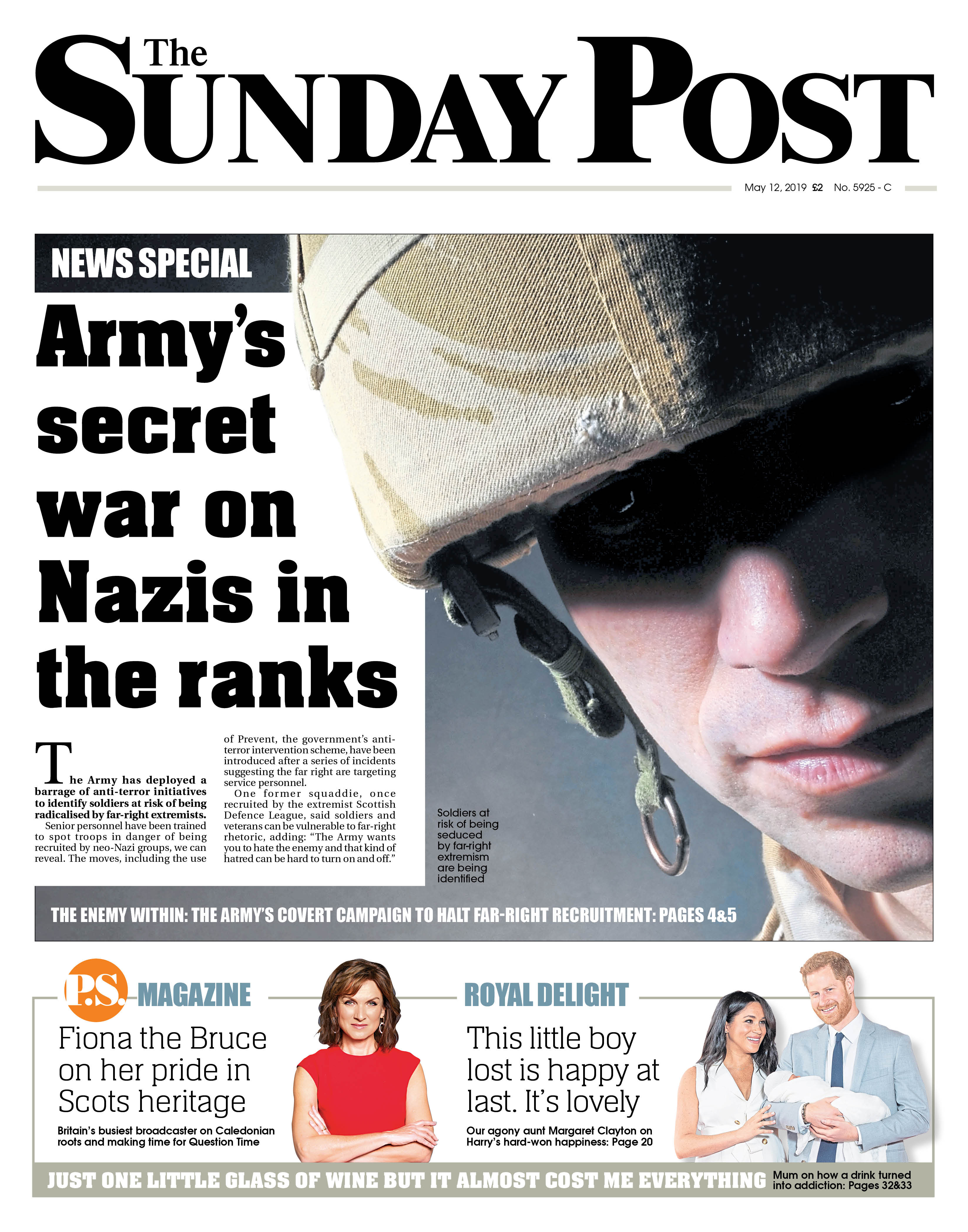 Five referred to anti-terror programme as Army hunts far-right infiltration within ranks - Sunday Post