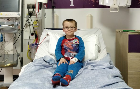 Ryan Whiteford, 11, has leukaemia