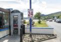 Lochcarron's cash machine