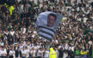 Celtic fans pay tribute to Billy McNeill