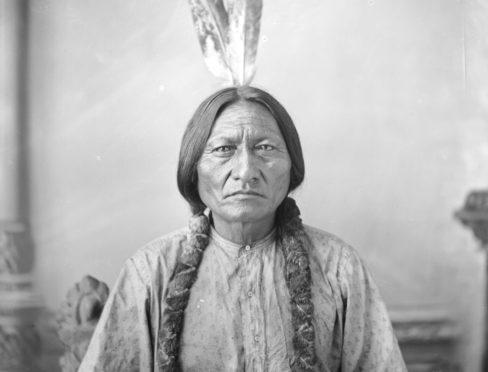 Sitting Bull by DF Barry ca 1883.