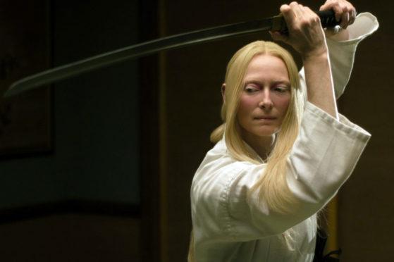 The Dead Don't Die stars Tilda Swinton as sword-wielding funeral director Zelda