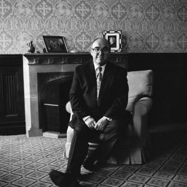 Labour Party leader John Smith (1938 - 1994), circa 1993.