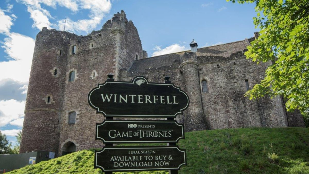 Doune Castle renamed Winterfell in honour of Game of Thrones