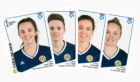 Caroline Weir, Jo Love, Rachel Corsie and Kim Little are among the Scotland stars included