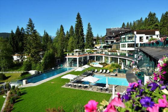 Poolside at Astoria Resort Seefeld