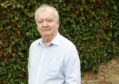 Professor Tom Devine at his home. He is a leading Scottish historian, author and commentator on Scotland and Scottish Independance.