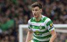 Kieran Tierney in action for Celtic