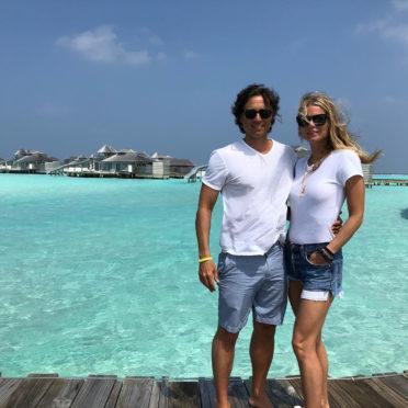 Gwyneth Paltrow in the Maldives on Instagram.