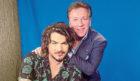 Sunday Post columnist Ross King with Adam Lambert