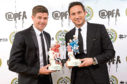 Steven Gerrard and Frank Lampard both received Merit Awards from the PFA in 2015