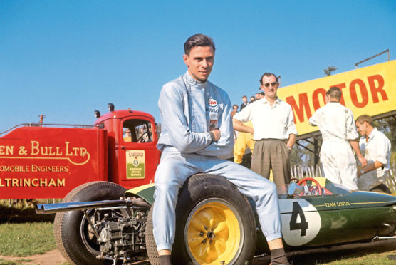 Jim Clark won two Formula One world championships and was regarded as the best driver in the world