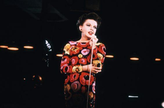 Judy Garland on stage
